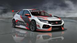 Honda Civic TCR 2018